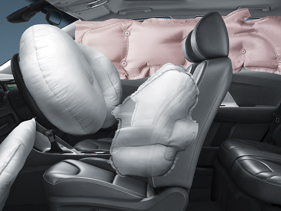 Kia Niro passive safety features 7 airbags