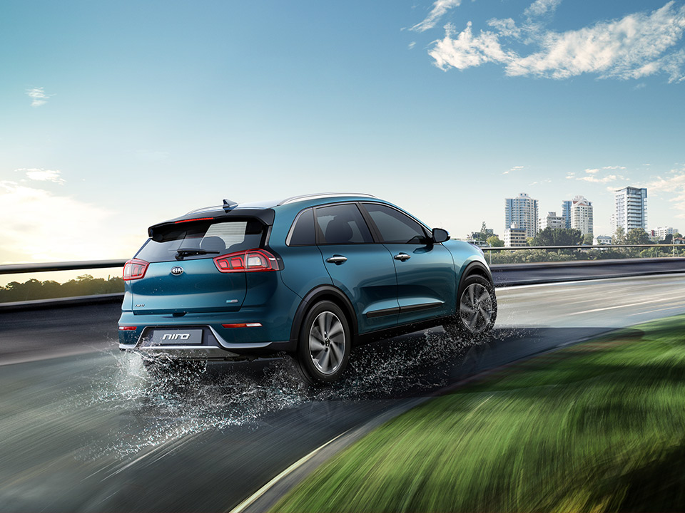 Kia Niro sport mode manual-style shifting