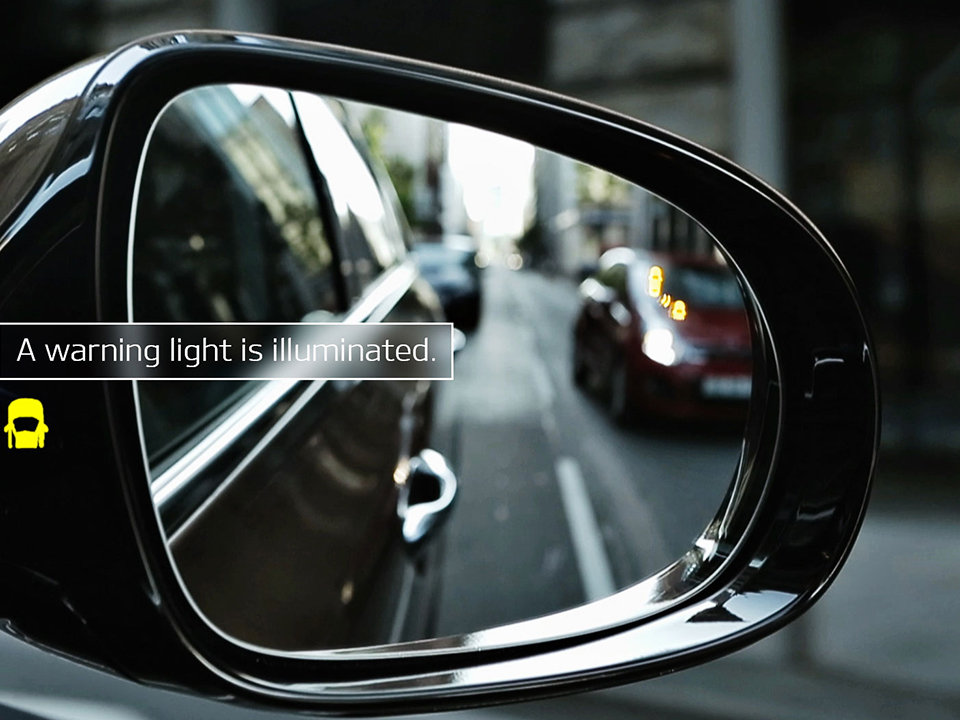 Kia Sorento blind spot detection