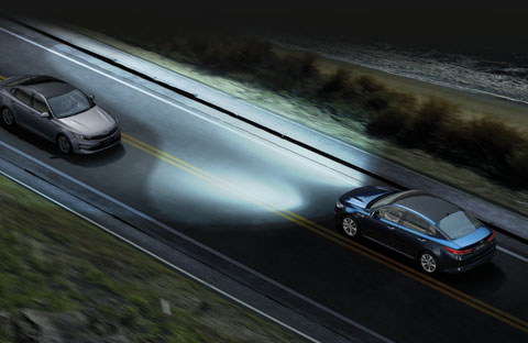 Dynamic Bending Lights and High Beam Assist